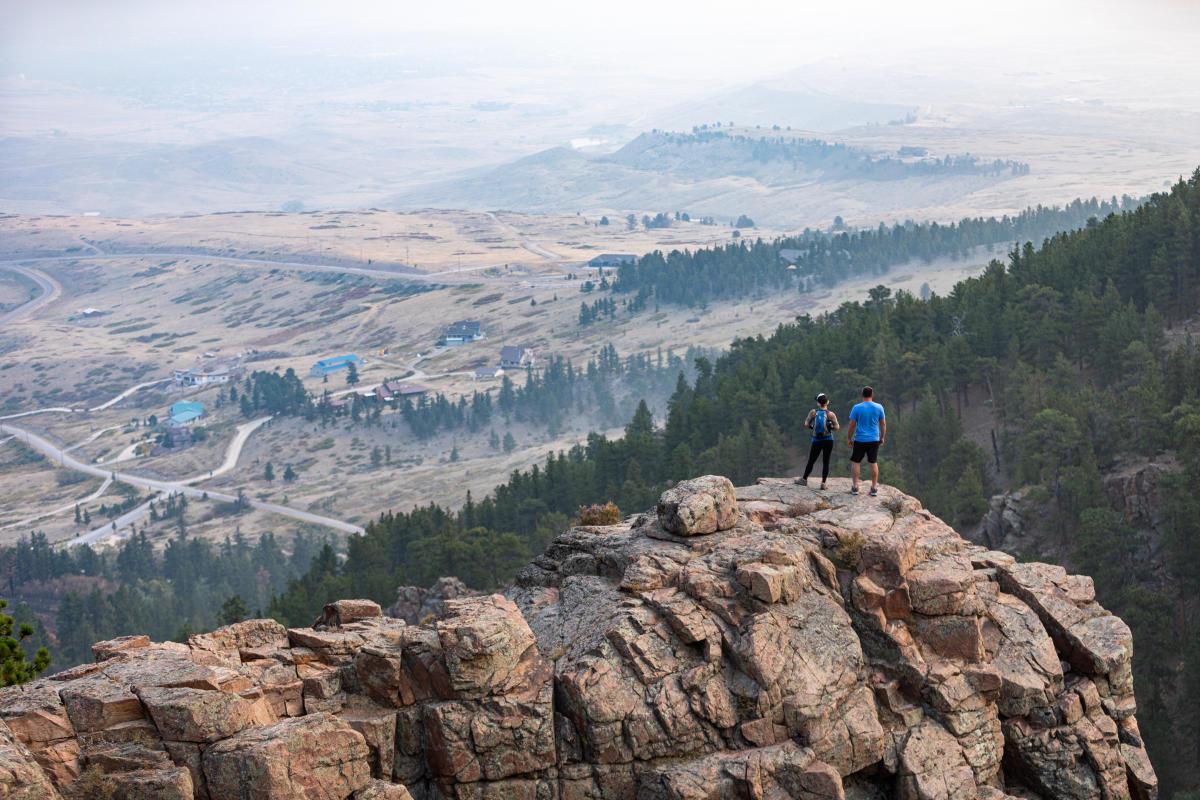 Hiking Casper Mountain