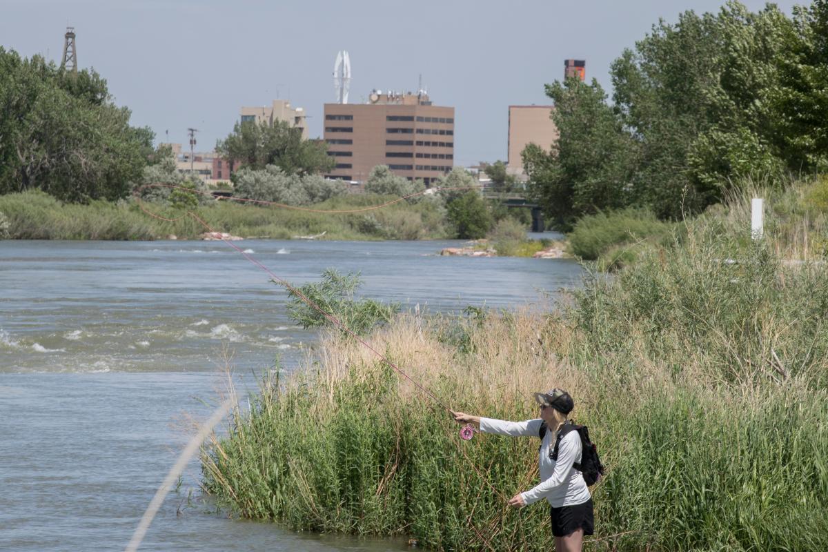 North Platte River Fishing