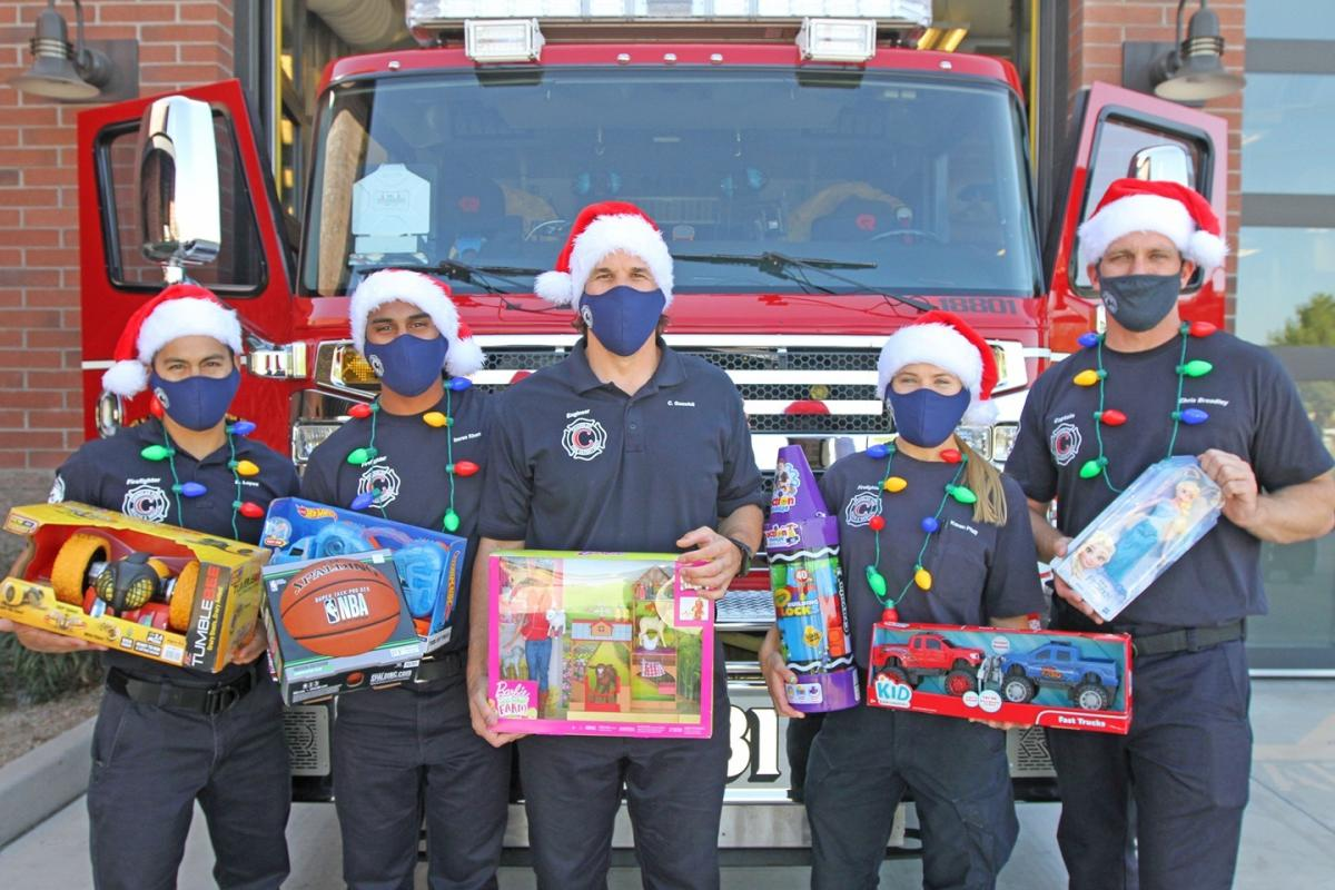 Chandler Fire Department Holiday Toy Drive