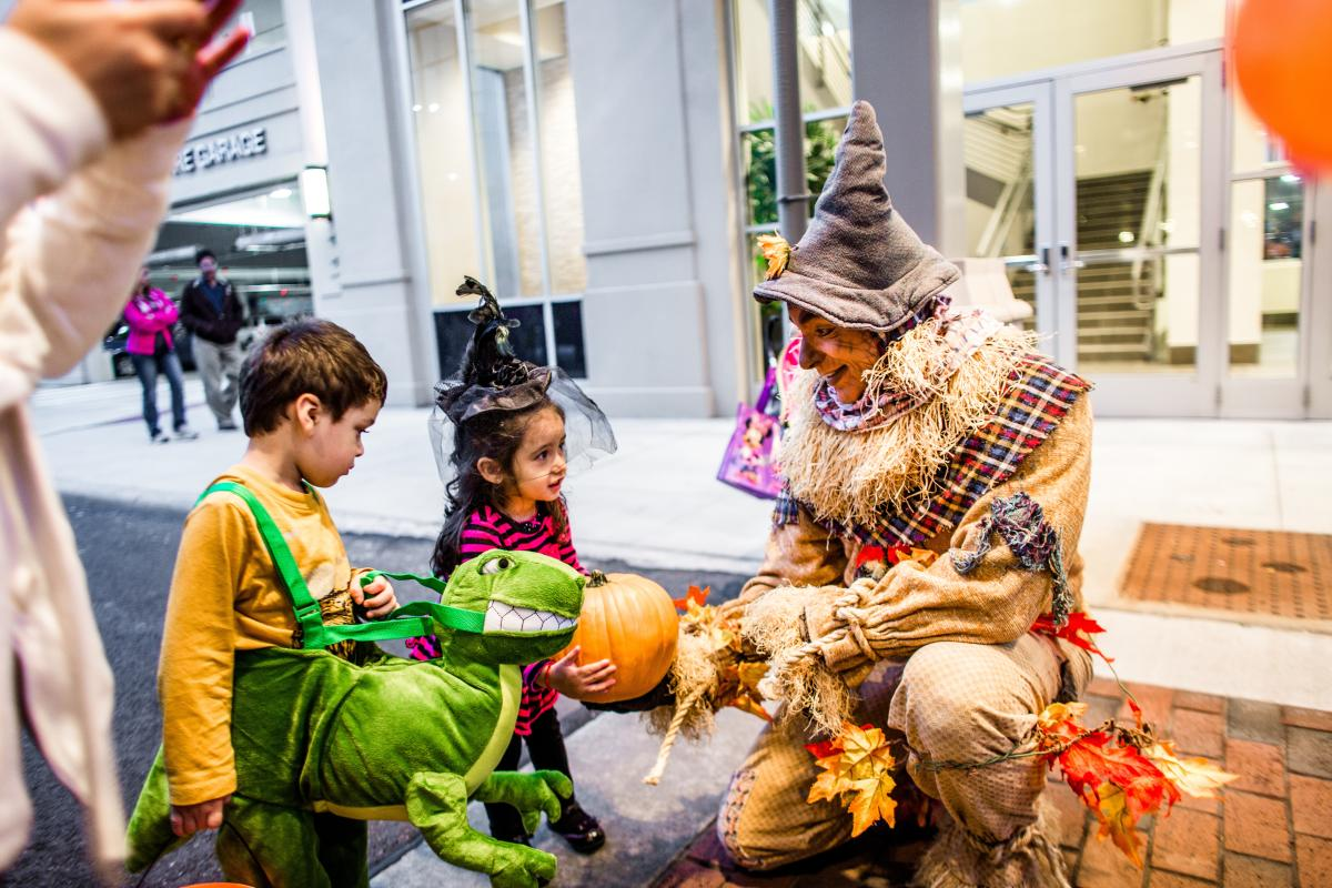 Trick or Treating at Easton Town Center in Columbus, OH
