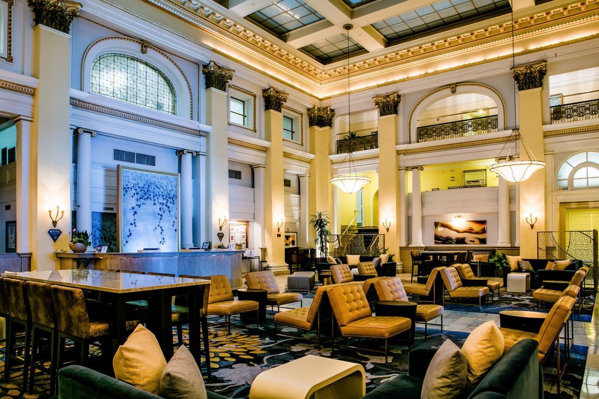 The Westin Columbus Lobby