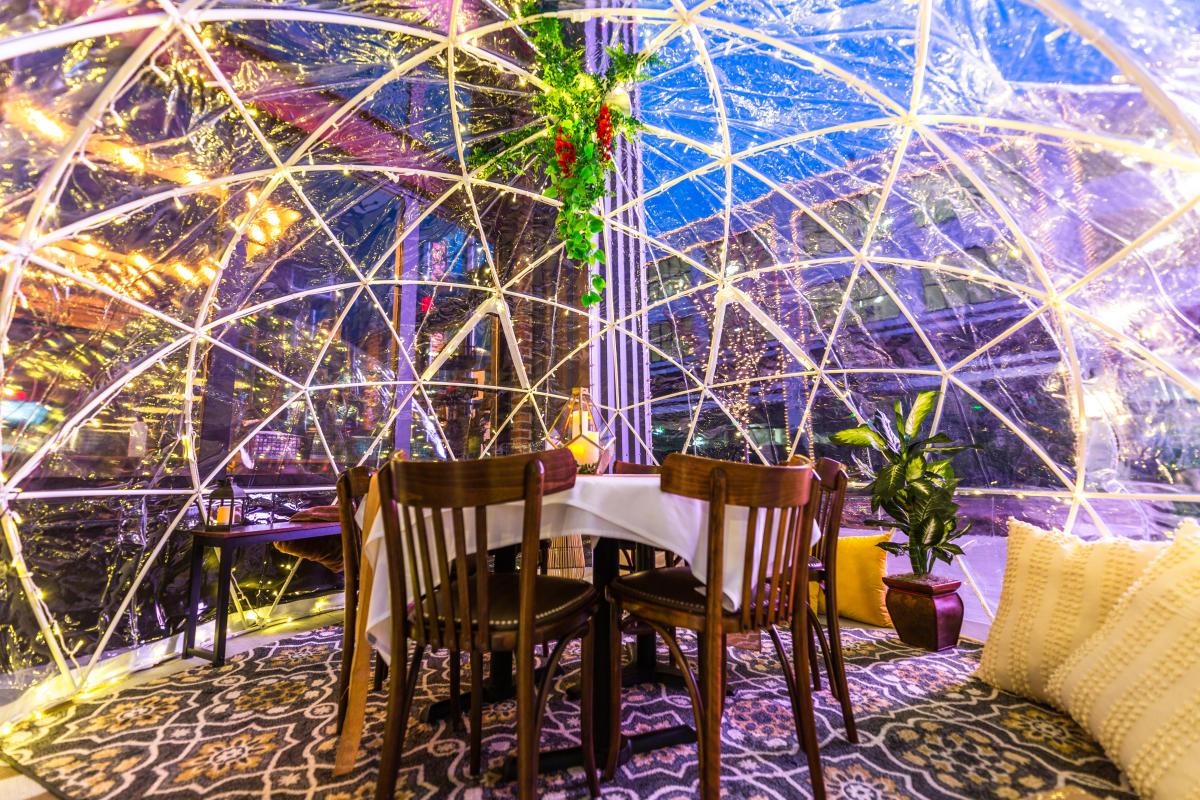 Beeline Bar Igloo Dining