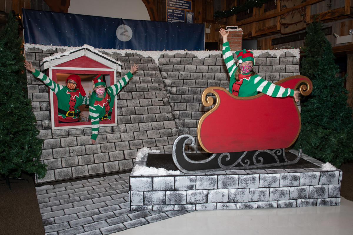 Socially Distant Santa Experience at Wildlights