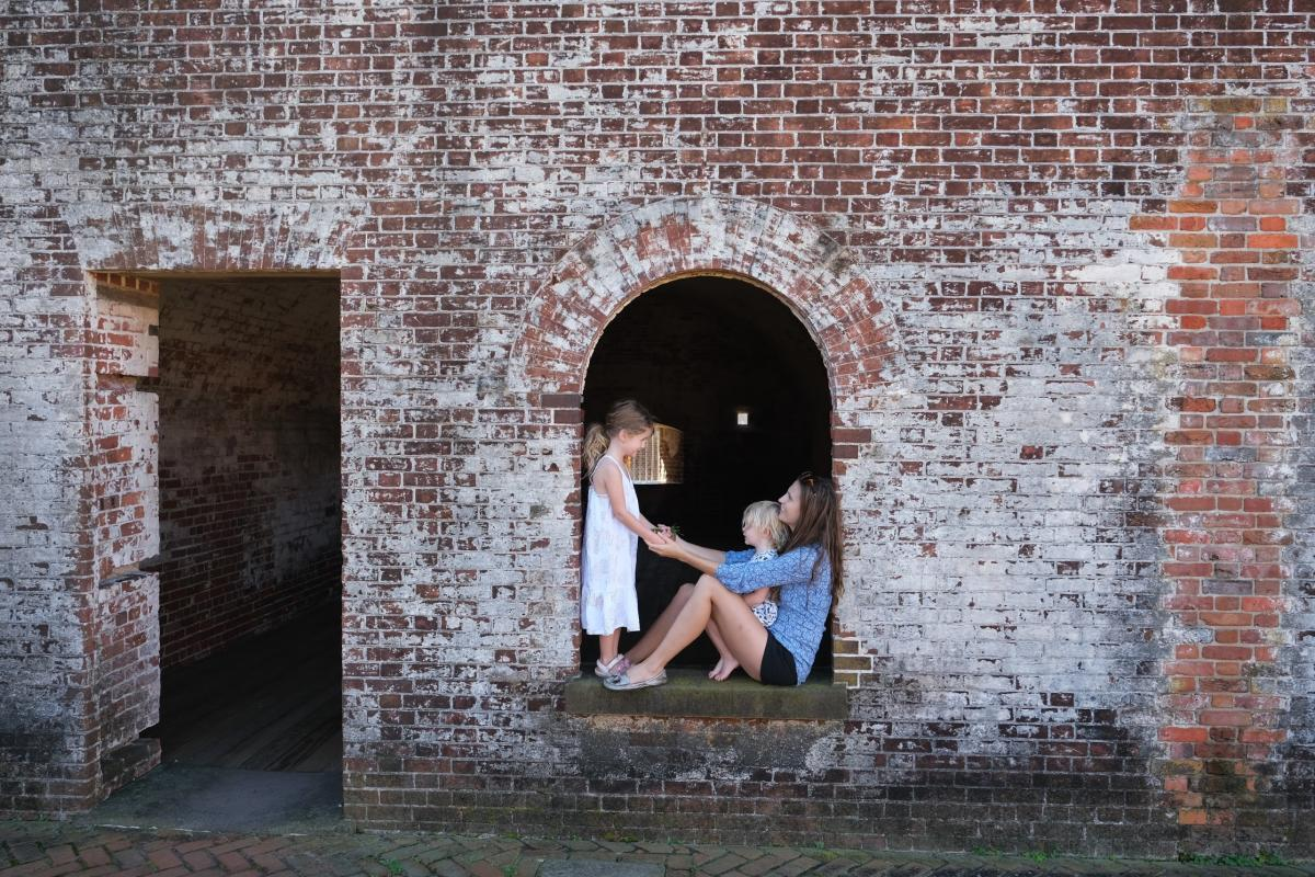 Well Traveled Child Fort Macon