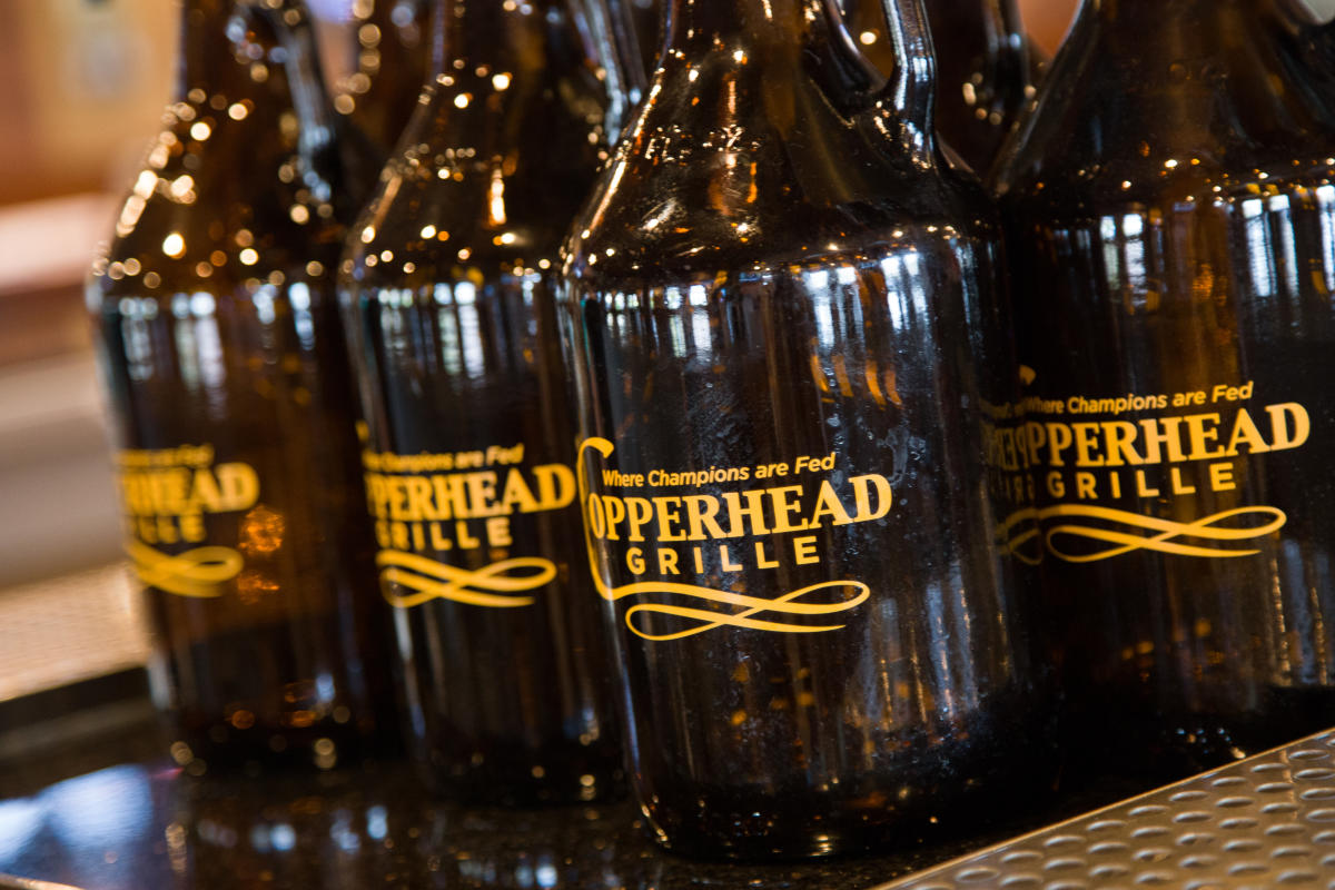 Beers at Copperhead Grille