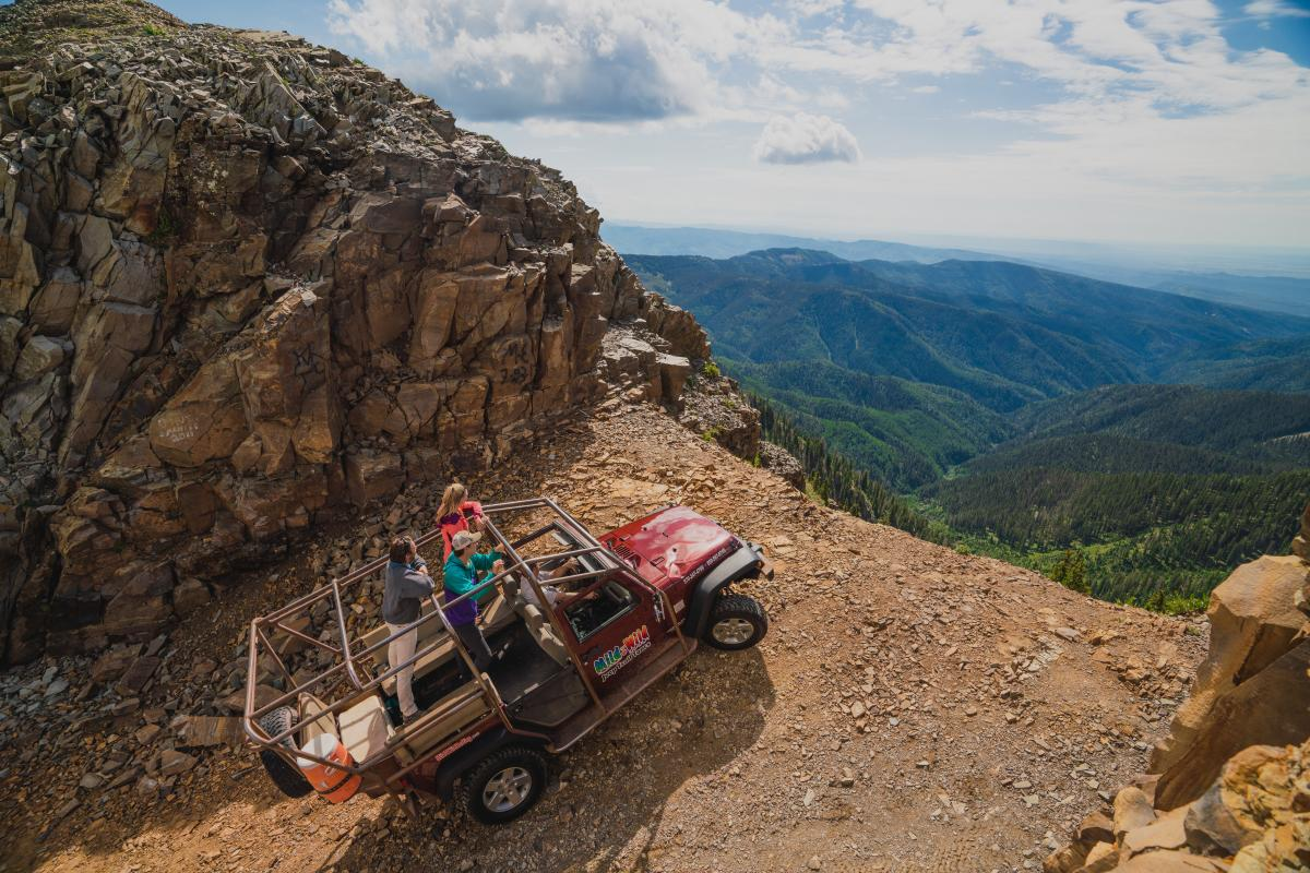 OHVing at the Notch in La Plata Canyon, Durango, CO