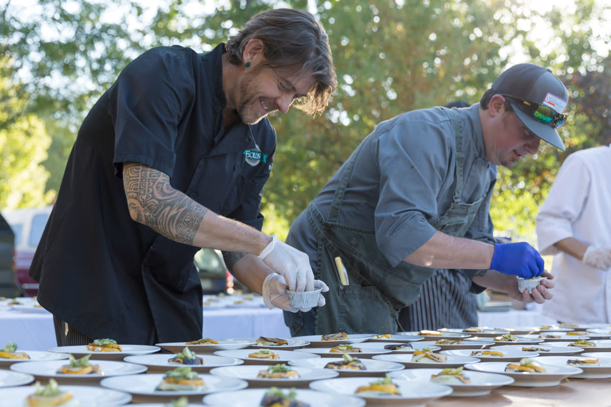 Chefs Cooking During Eat Local Month