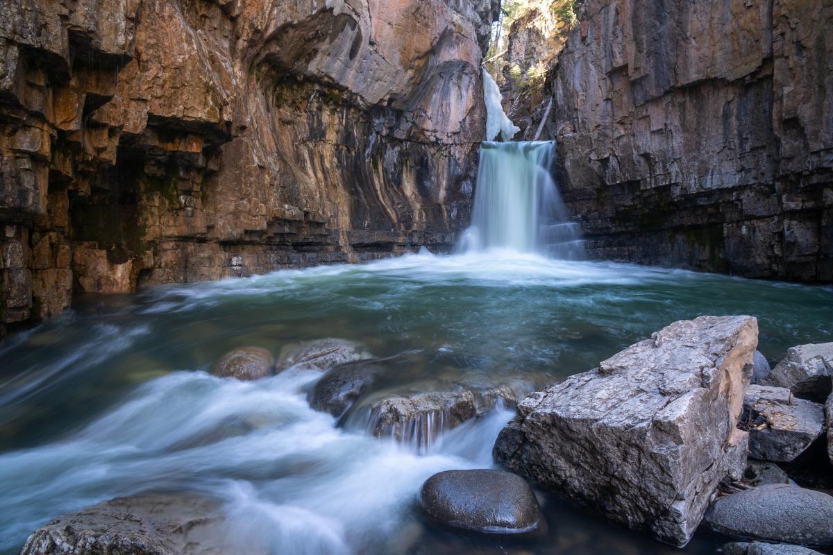 Cascade Canyon, Lower Cascade Creek Falls, Durango, CO