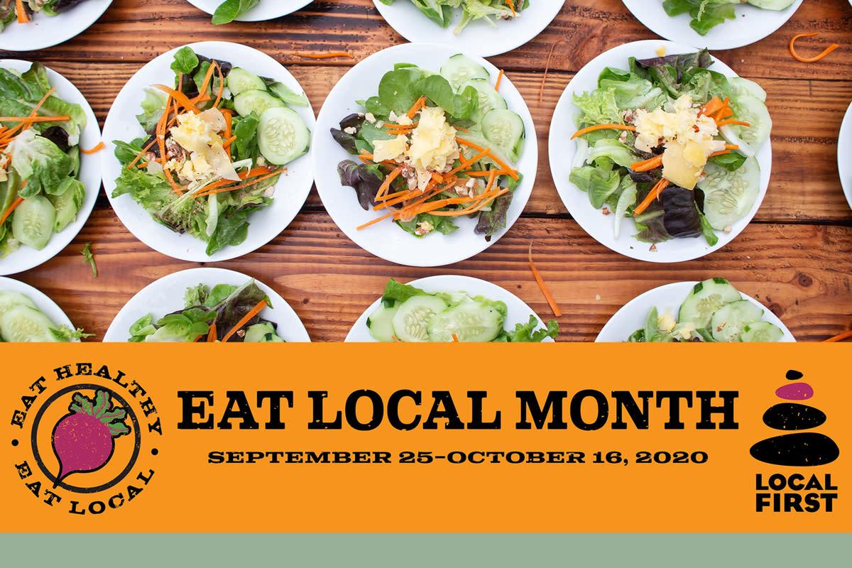 Eat Local Month Signage Durango, CO