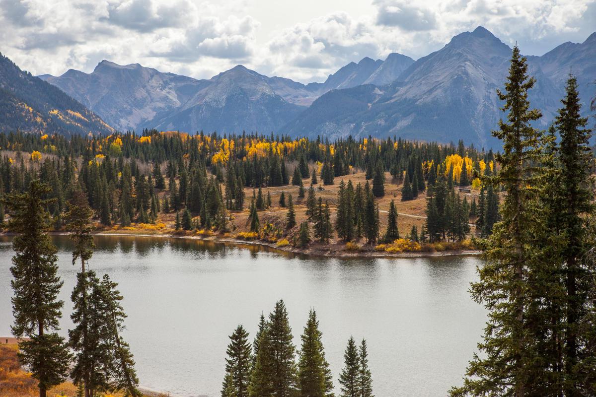 Fall at Molas Lake