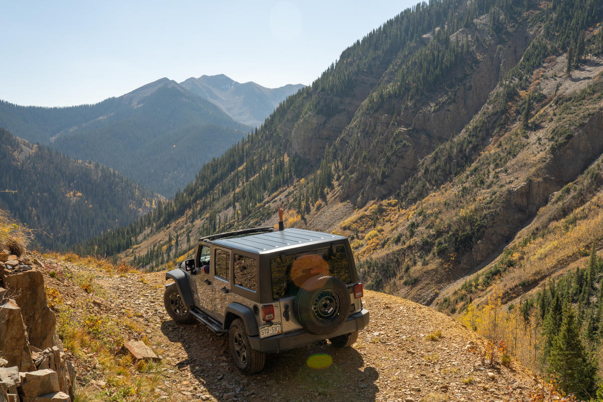Jeeping and OHVing in La Plata Canyon During Fall