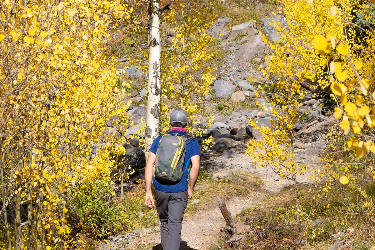 Molas Pass Hike in Fall
