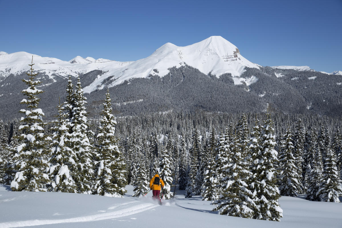 Backcountry Skiing in Durango Near Engineer Mountain