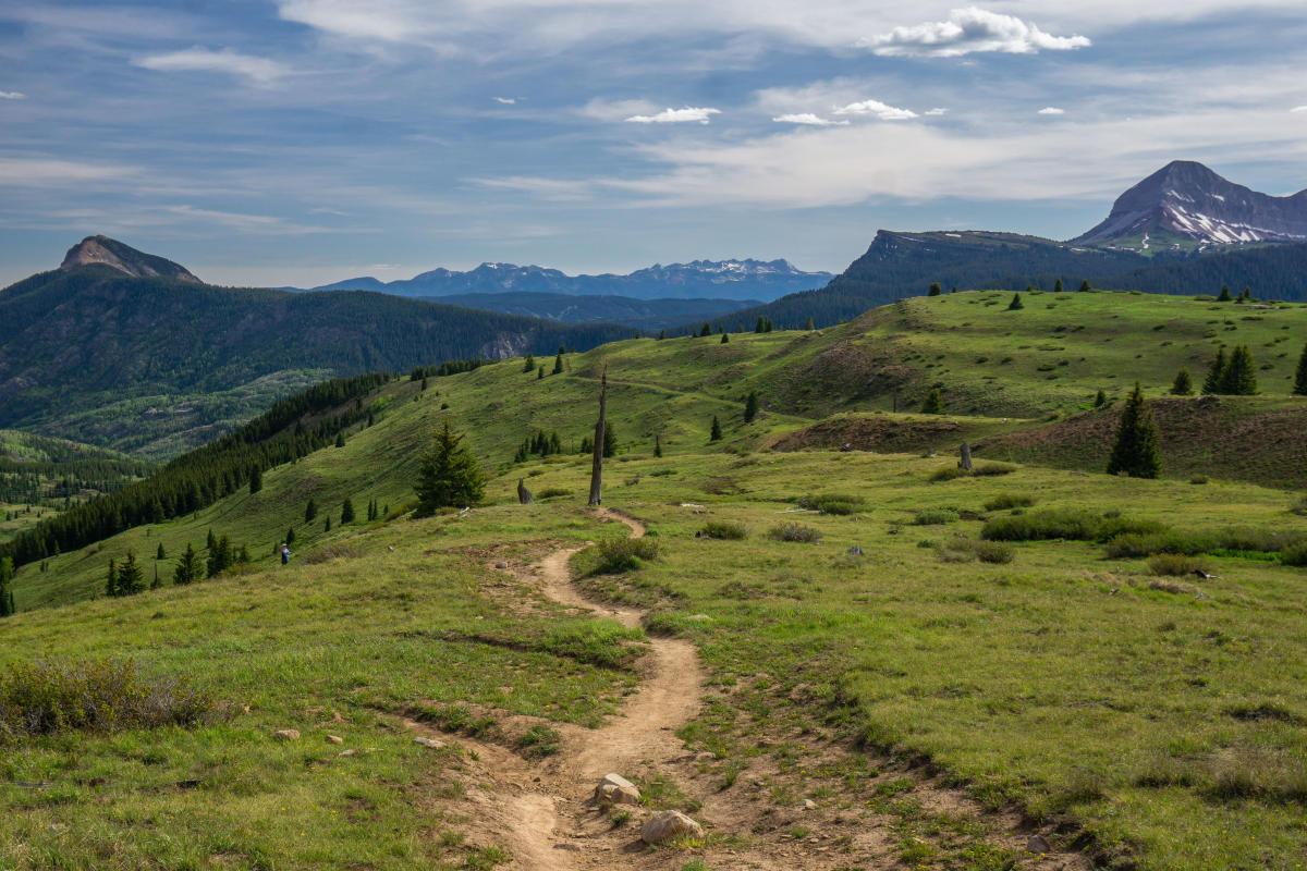 Little Molas Lake Colorado Trail Hiking Durango, CO