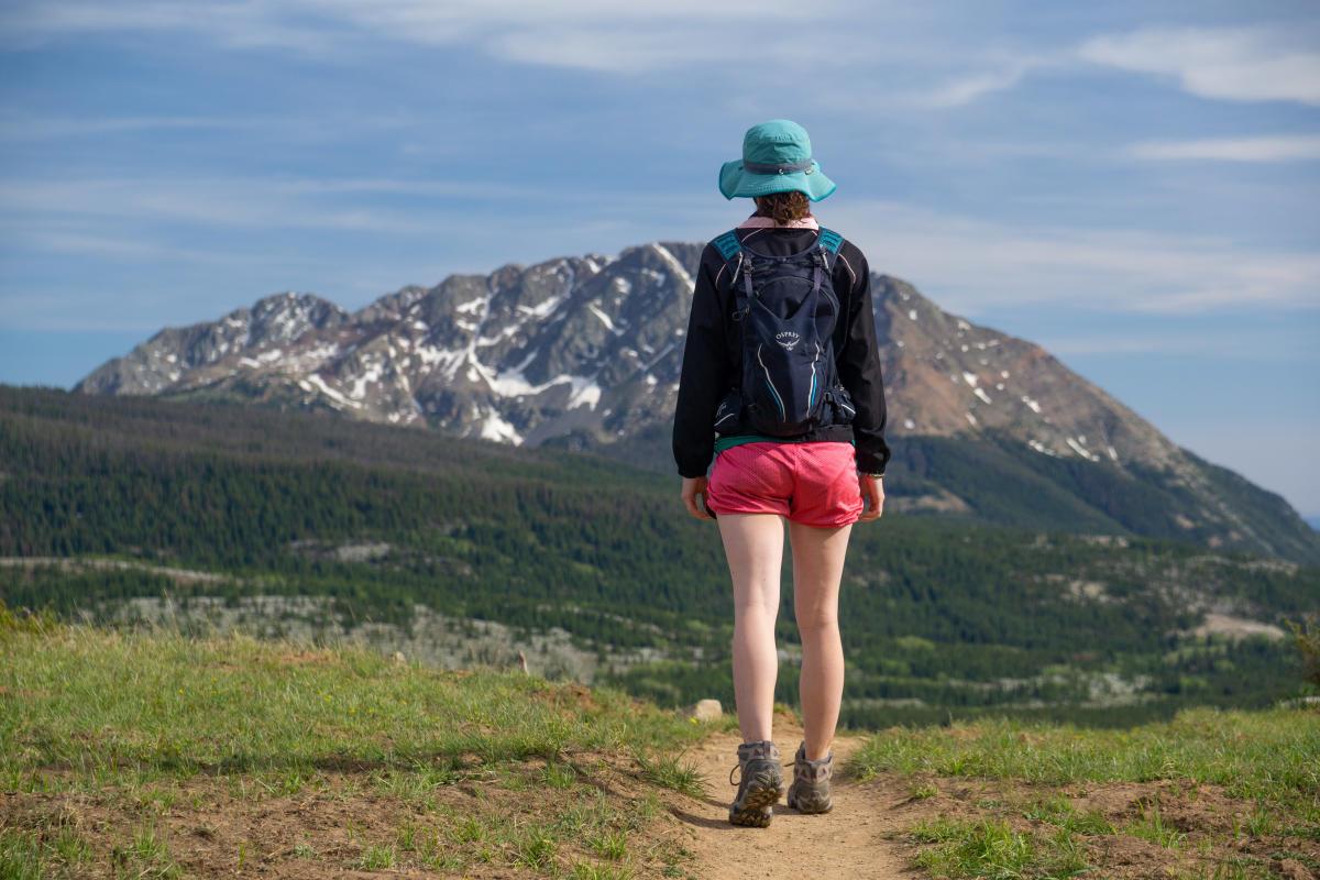 Hiking on the Colorado Trail, Near Molas Pass