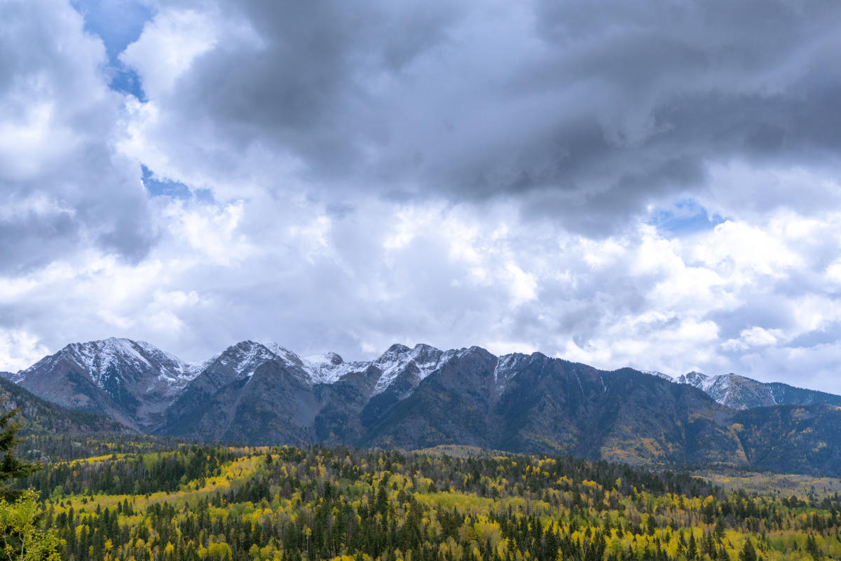 Needle Mountains During Fall, Durango, CO