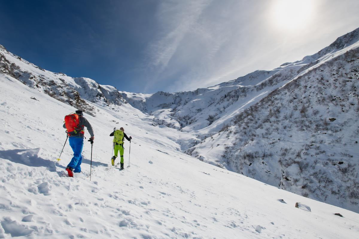 Backcountry Skiing in La Plata Canyon Near Durango