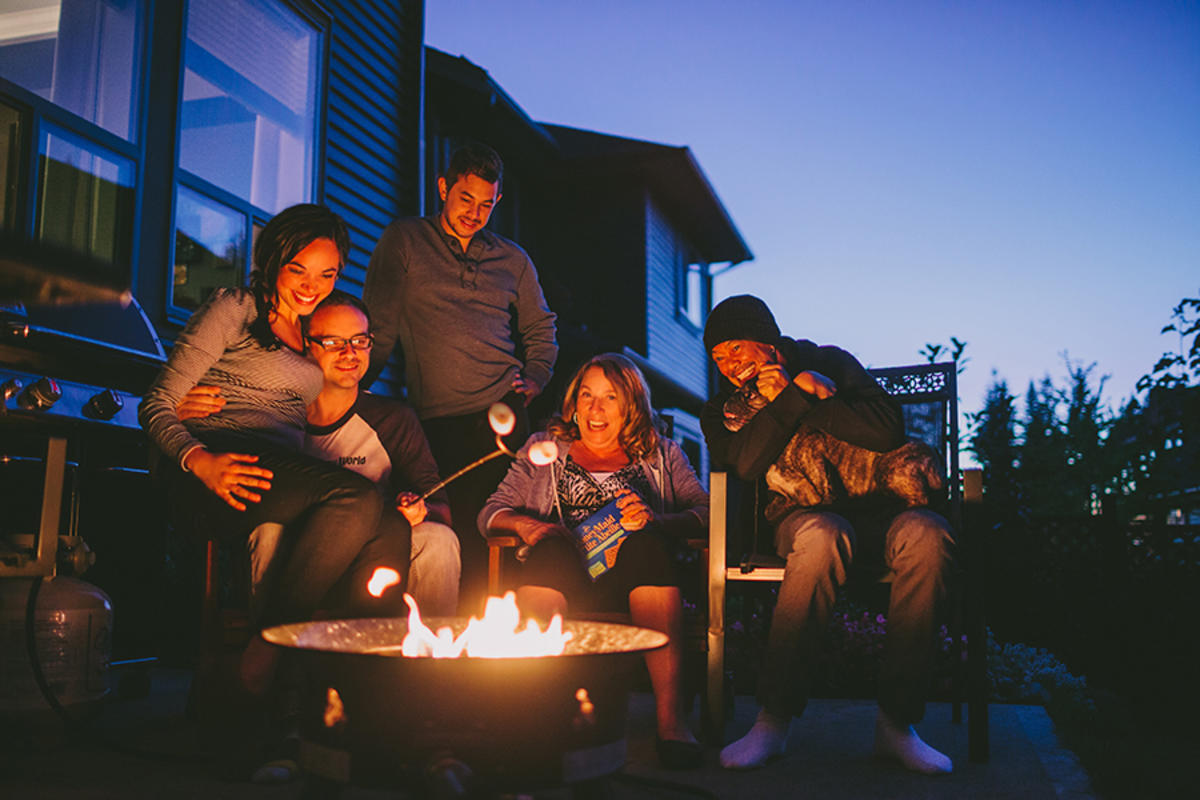 Fire Safety in the Backyard Fire-Pit