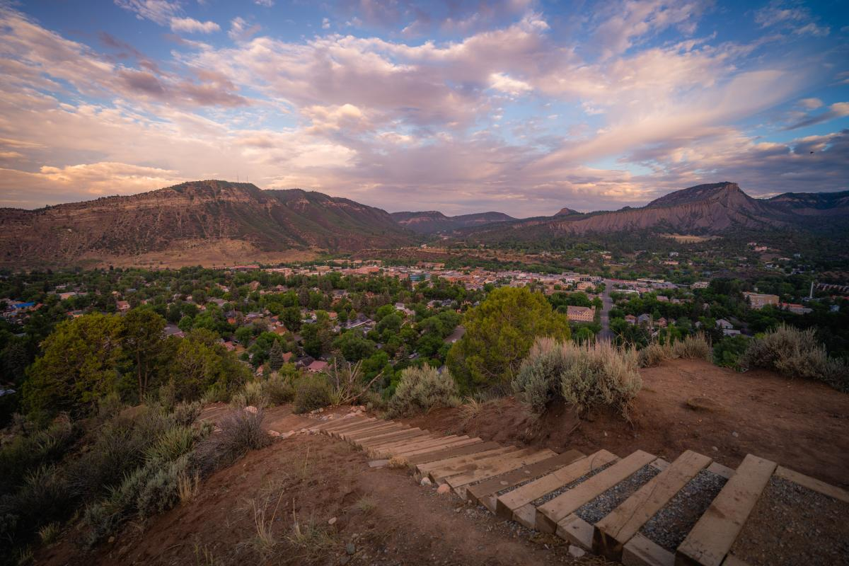 Sky Steps, Fort Lewis, Durango, CO