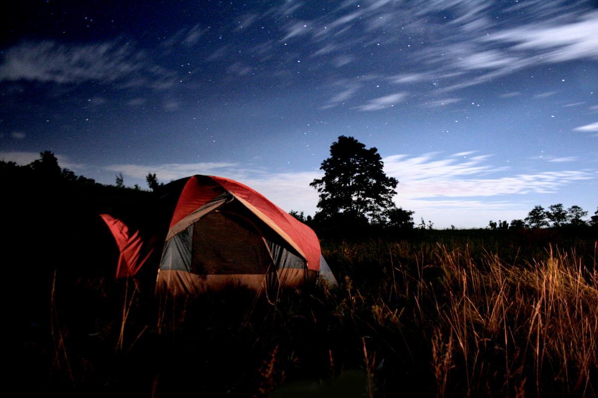 Harlan tourism- camping