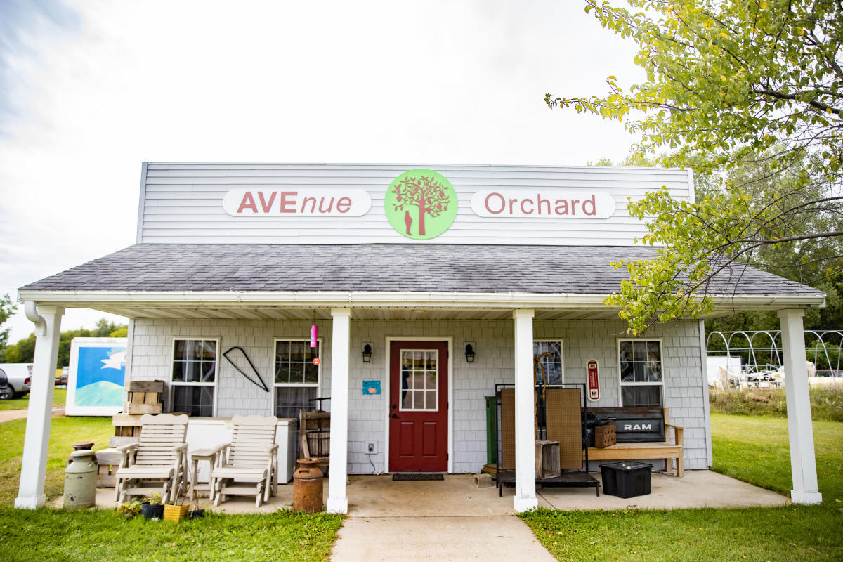 Exterior of Avenue Orchard