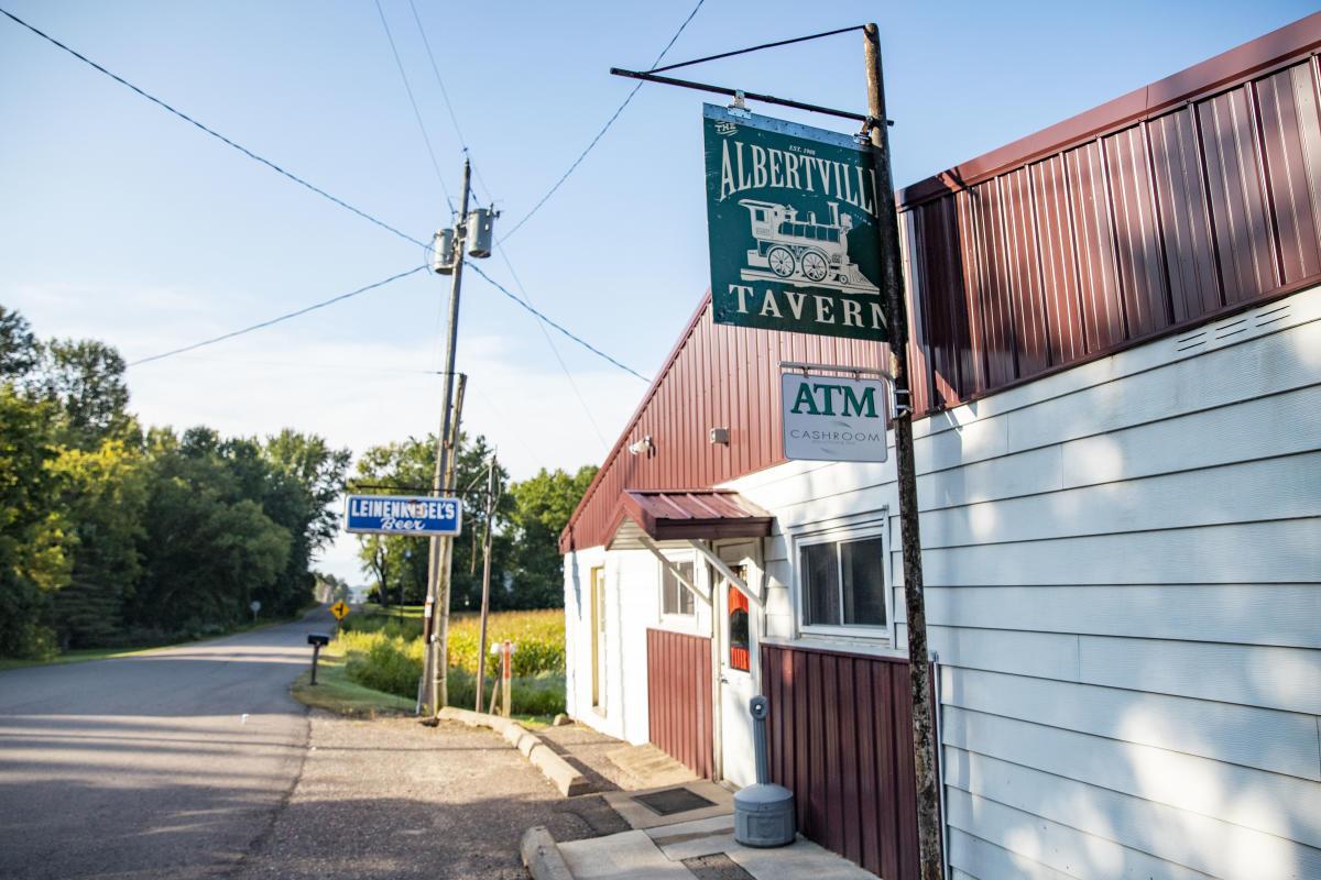 Exterior of Albertville Tavern