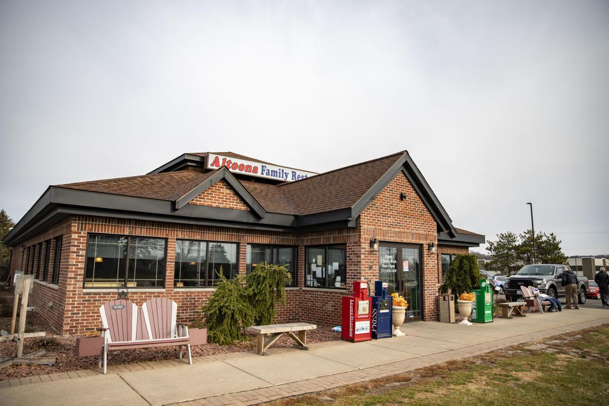 Exterior of Altoona Family Restaurant
