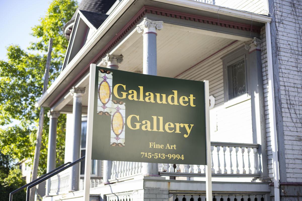Exterior of Galaudet Art Gallery
