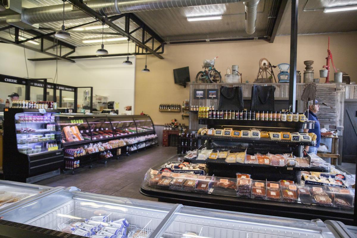 Interior of Rump's Butcher Shoppe in Altoona