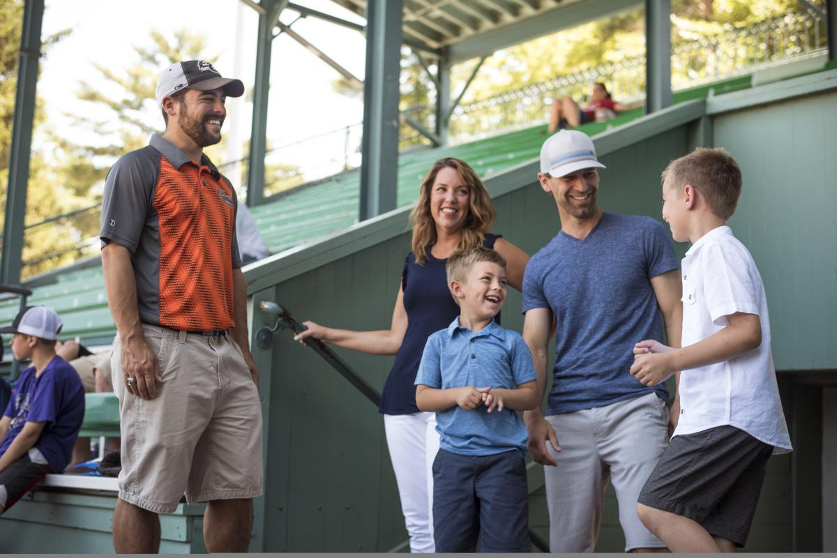 Enjoy the ultimate Express fan experience on a behind-the-scenes pre-game tour of Carson Park