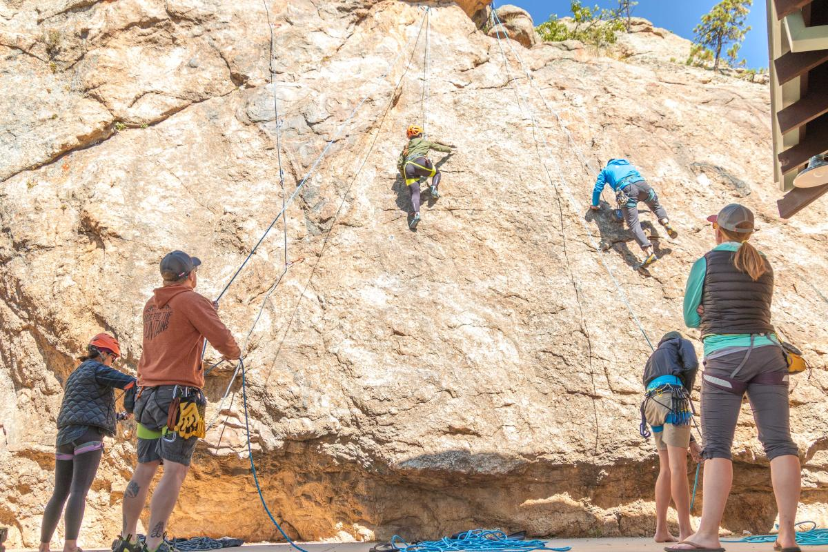 staff climb performance park