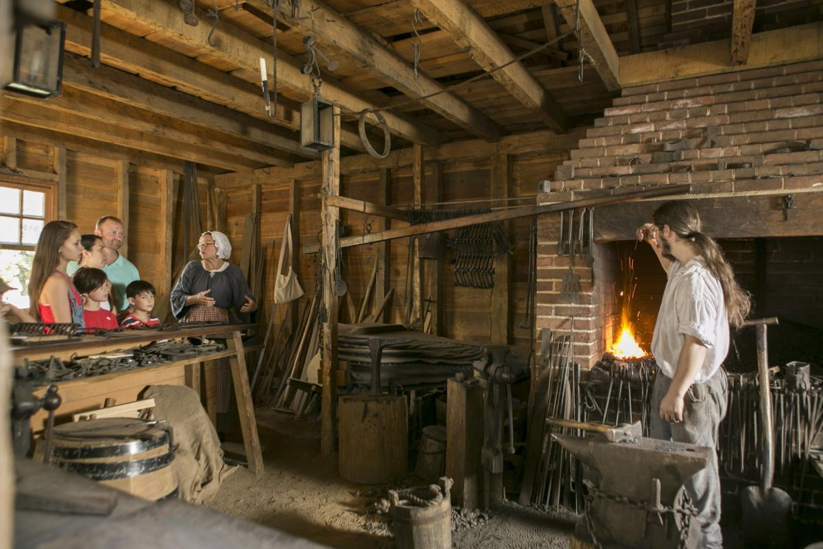 Mount Vernon Blacksmith Shop