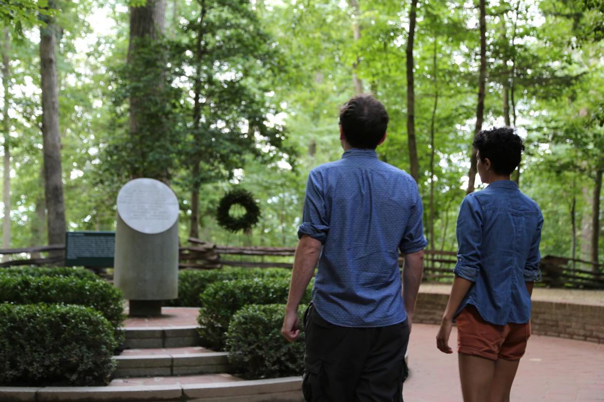 Mount Vernon - Slave Memorial