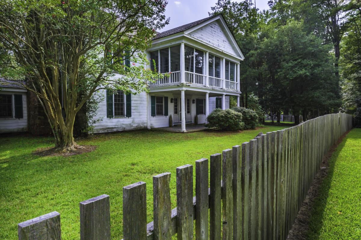 James Rockefeller Home Carvers Creek State park