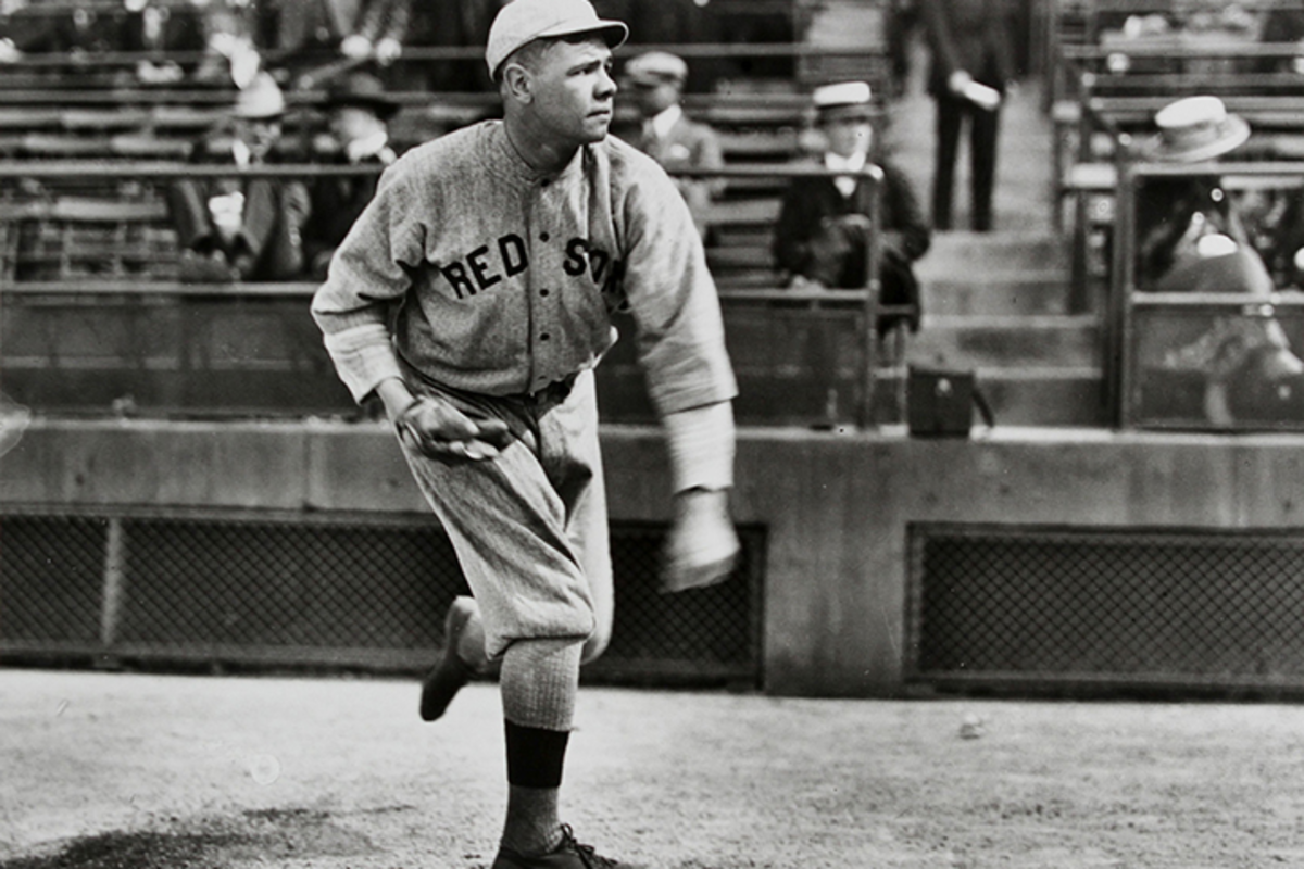 """George Herman """"Babe"""" Ruth hit his first homerun as a professional baseball player in Fayetteville"""