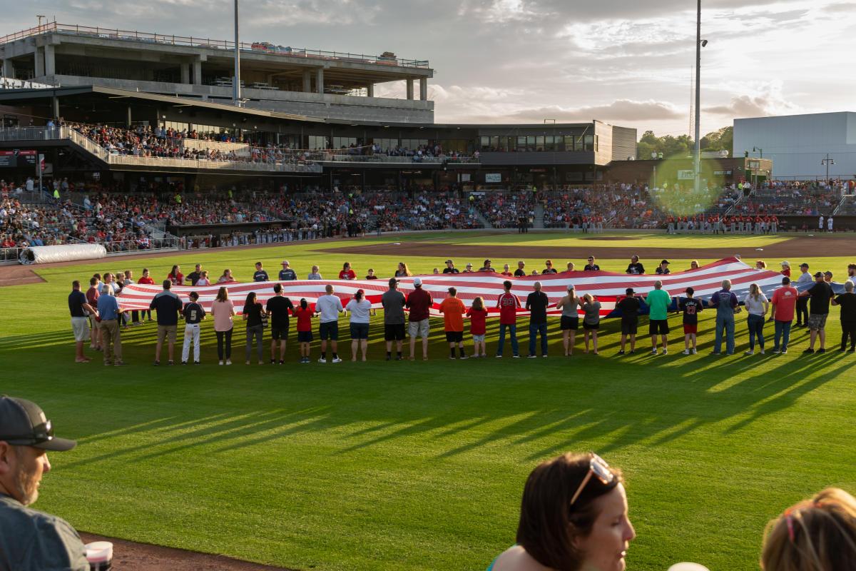 Woodpeckers Segra Flag