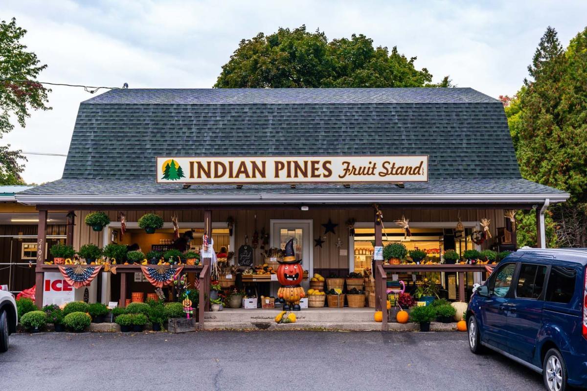 Indian Pines Farm Market in Penn Yan