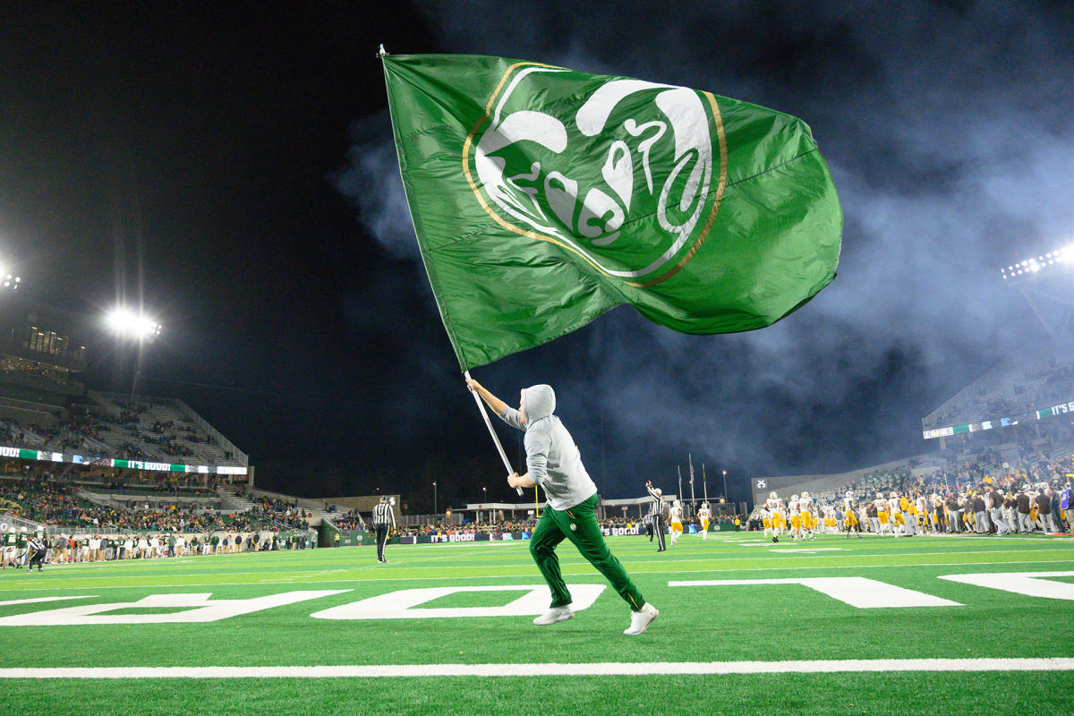 CSU Game Day Flag