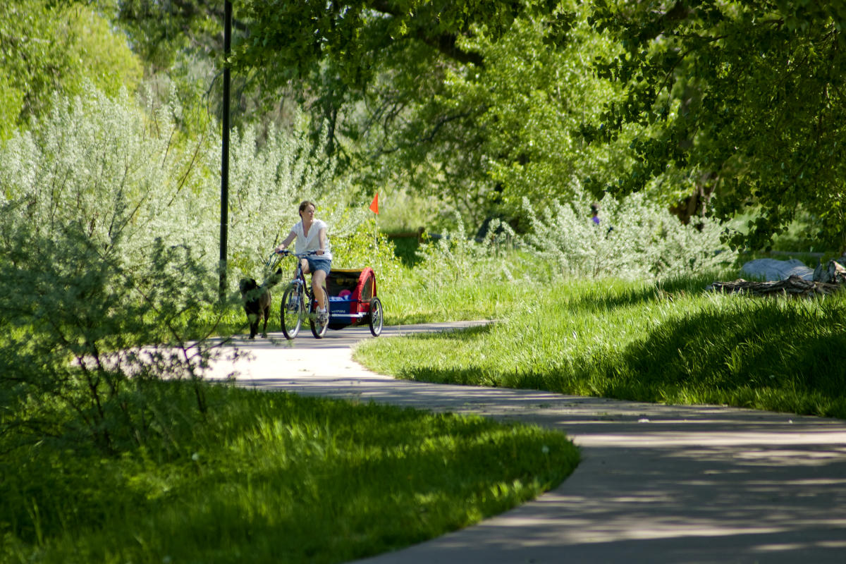 Road Bike Spring Creek Trail