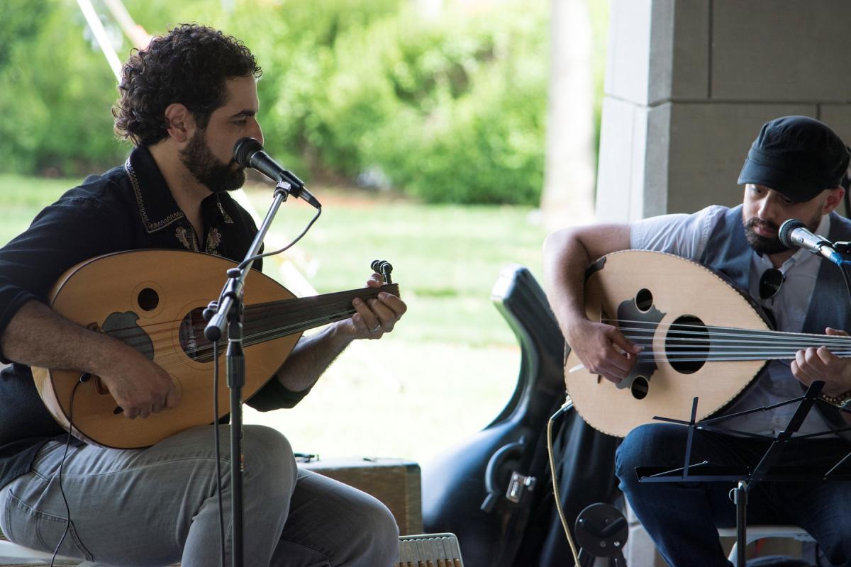 Musicians at ArabFest