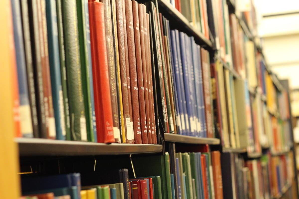 Genealogy Center Bookshelves
