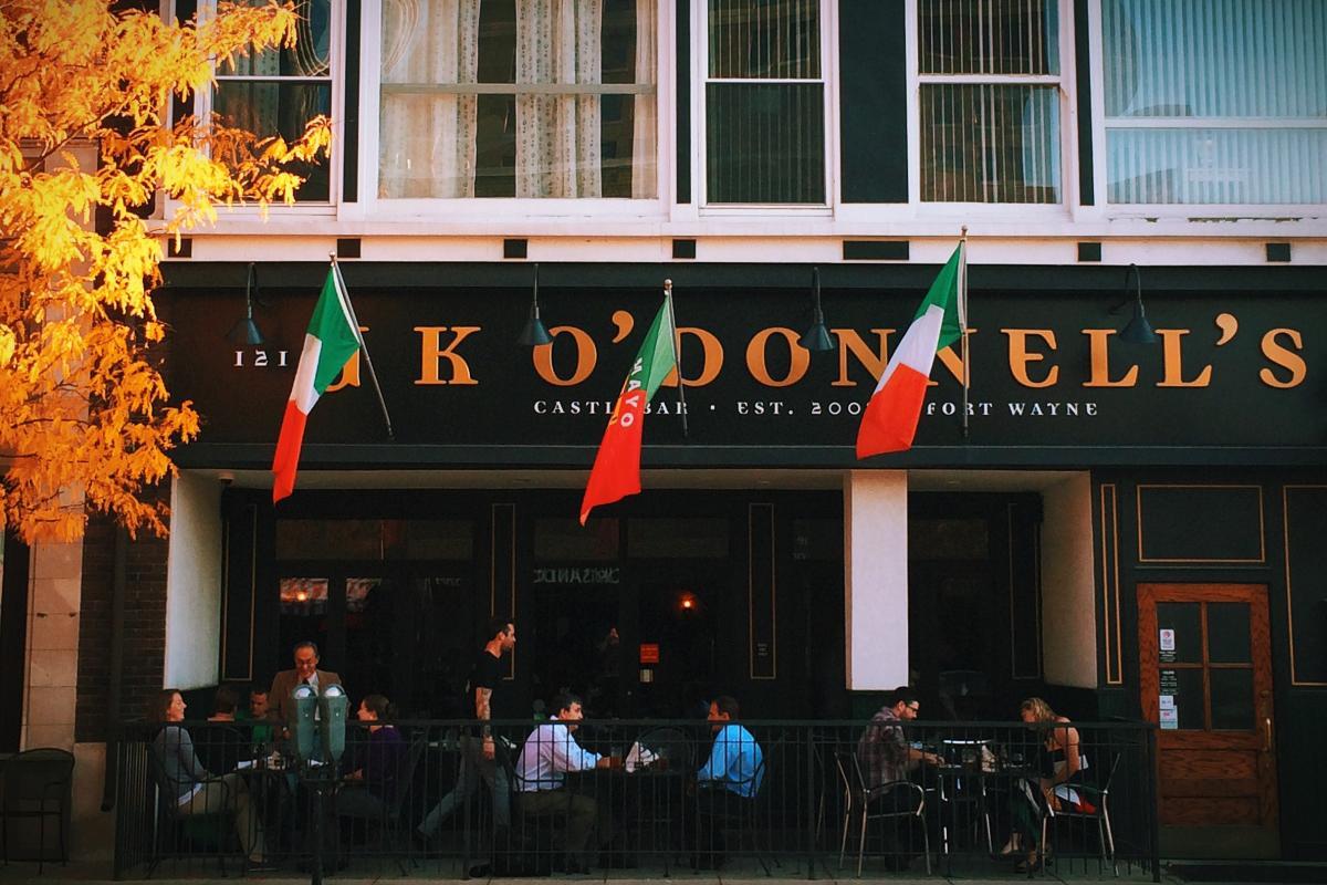J.K. O'Donnell's Irish Pub Patio on Wayne Street