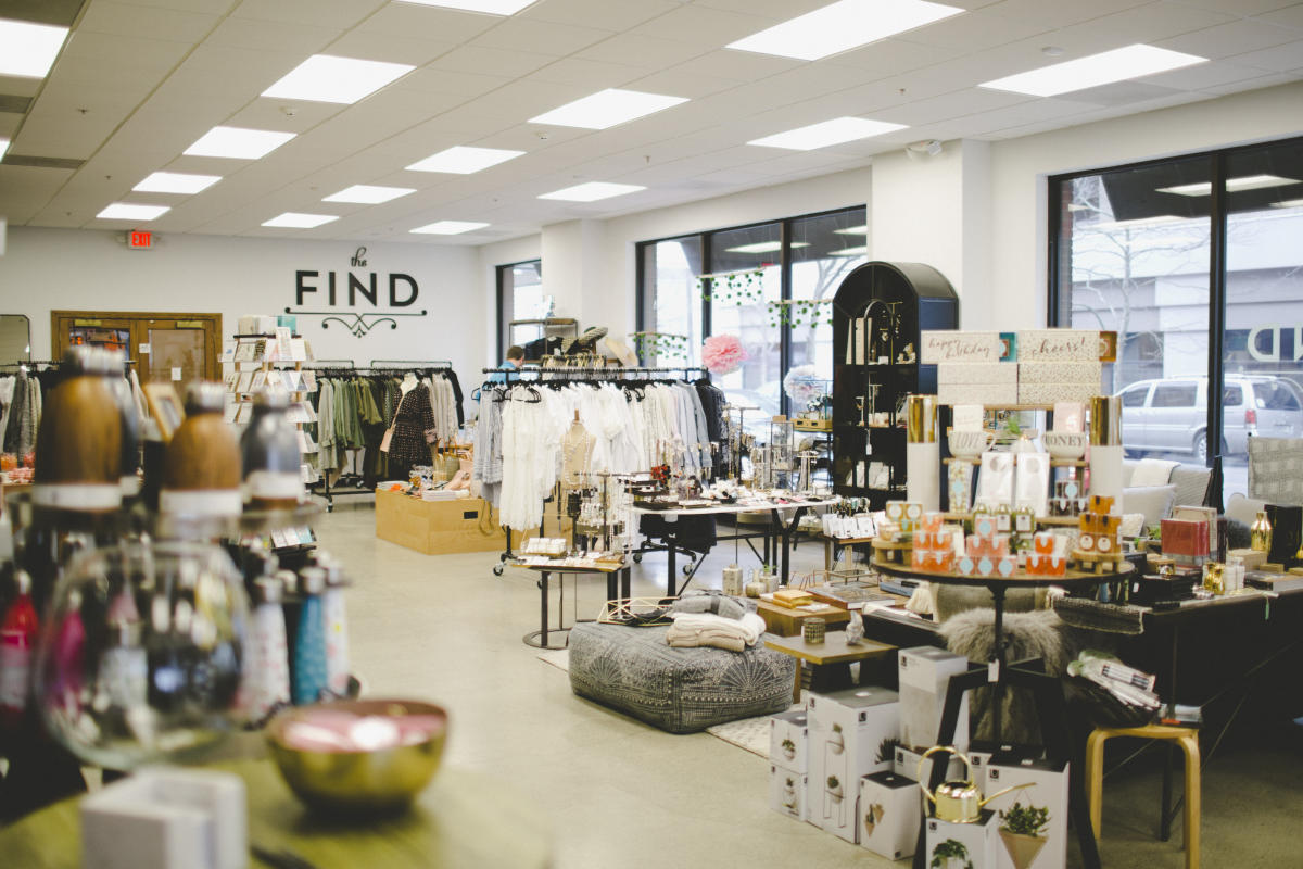 The Find Boutique in Fort Wayne, Indiana - Holiday Shopping