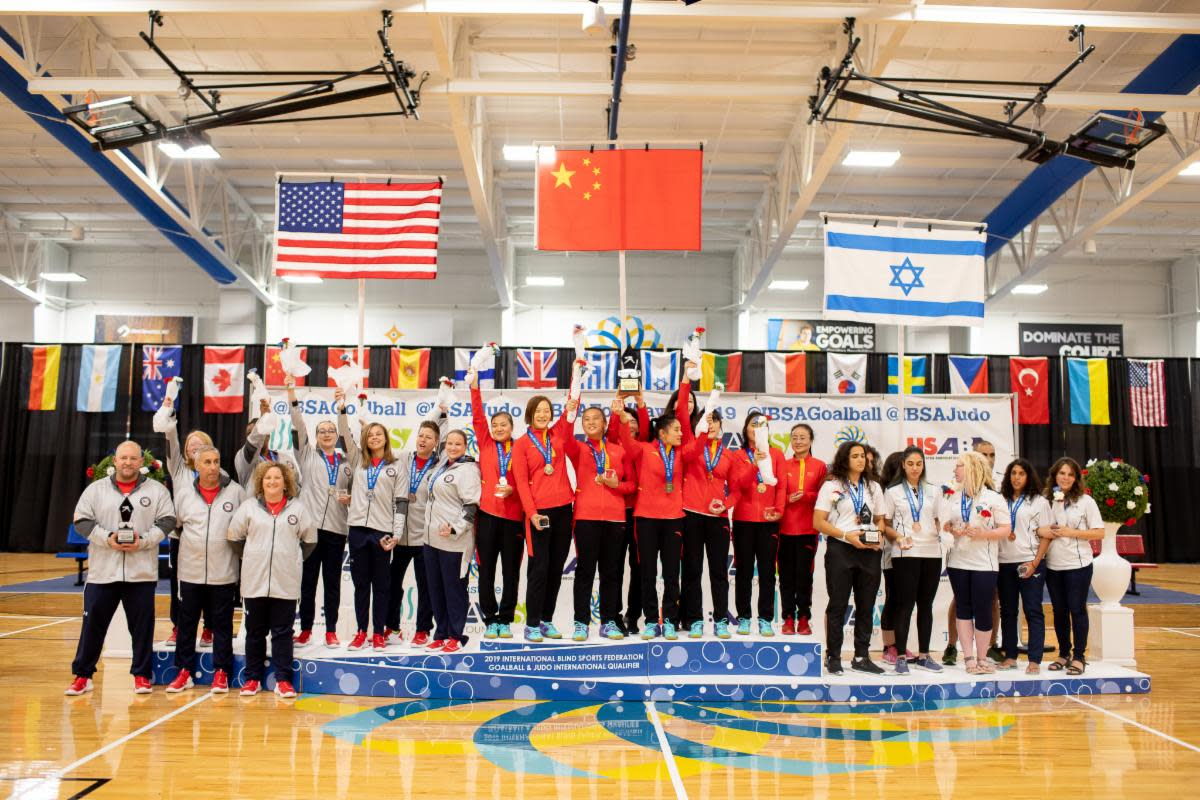 The USA Women's Goalball Team earned a second place finish earning them qualification to the 2020 Paralympic Games in Tokyo.