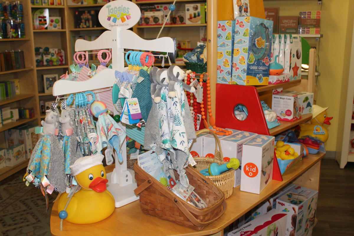 Baby items and toddler toys at Dancing Bear