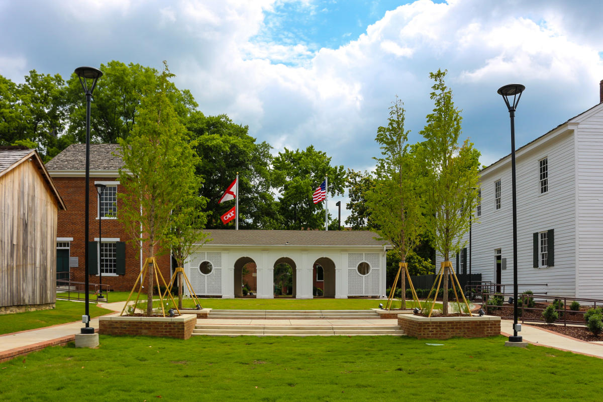 Alabama Constitution Hall Park Earlyworks