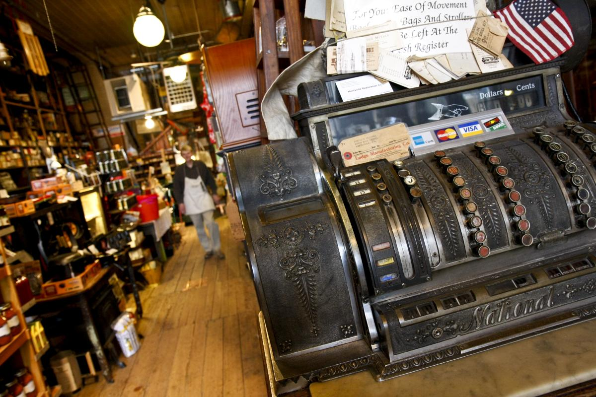 Harrison Brothers cash register