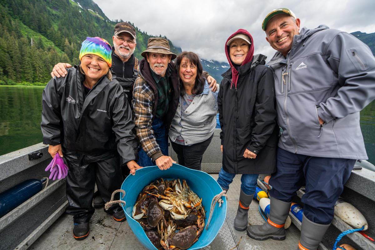 Pybus Point Lodge Family Fishing