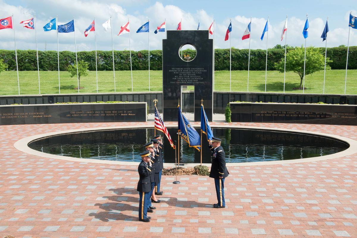 Veterans Memorial Pittsburg