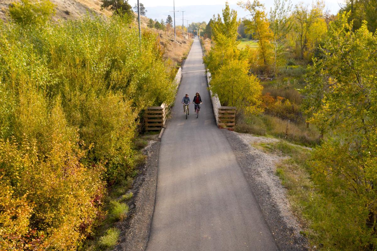 Photo series taken in partnership with Okanagan Rail Trail